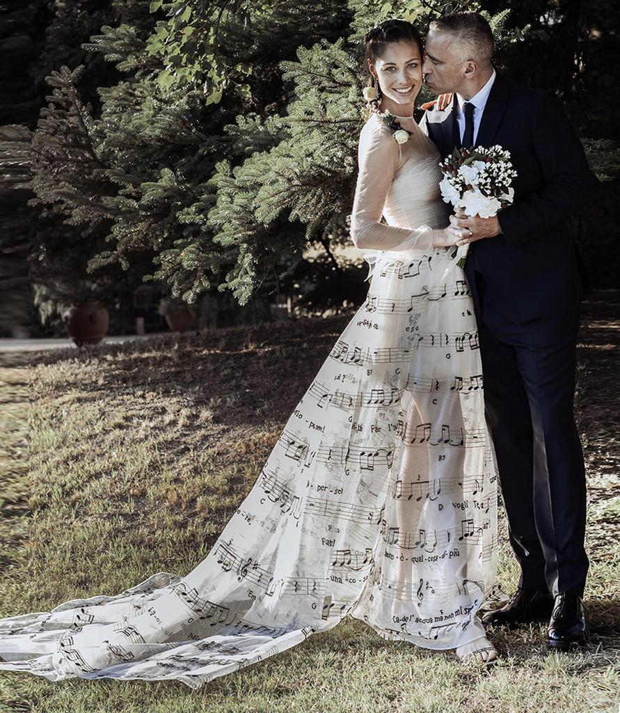 l'abito da sposa di marica pellegrinelli