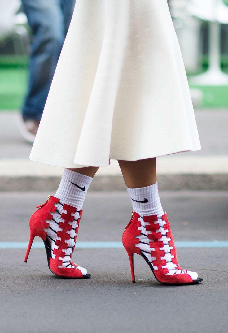 le calze con le scarpe