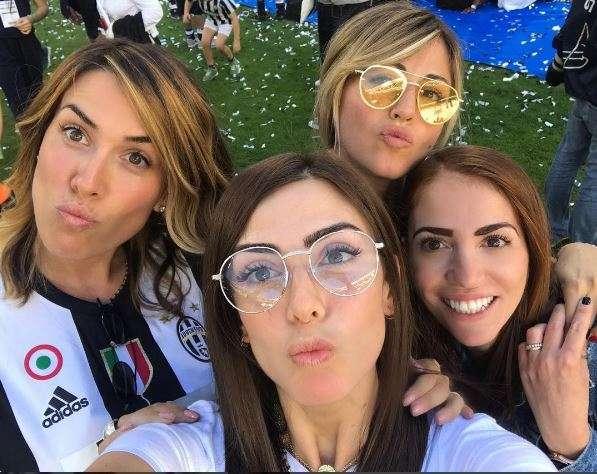 Le mogli e le fidanzate dei giocatori della Juventus: chi sono le wags bianconere