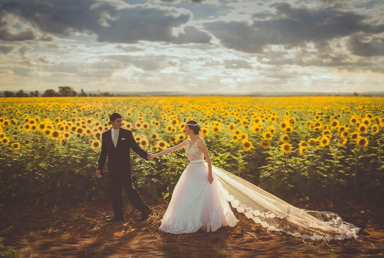 decorazioni matrimonio all'aperto