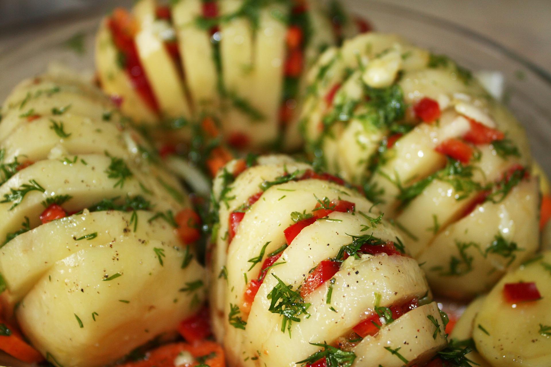 menu dieta patate lesse