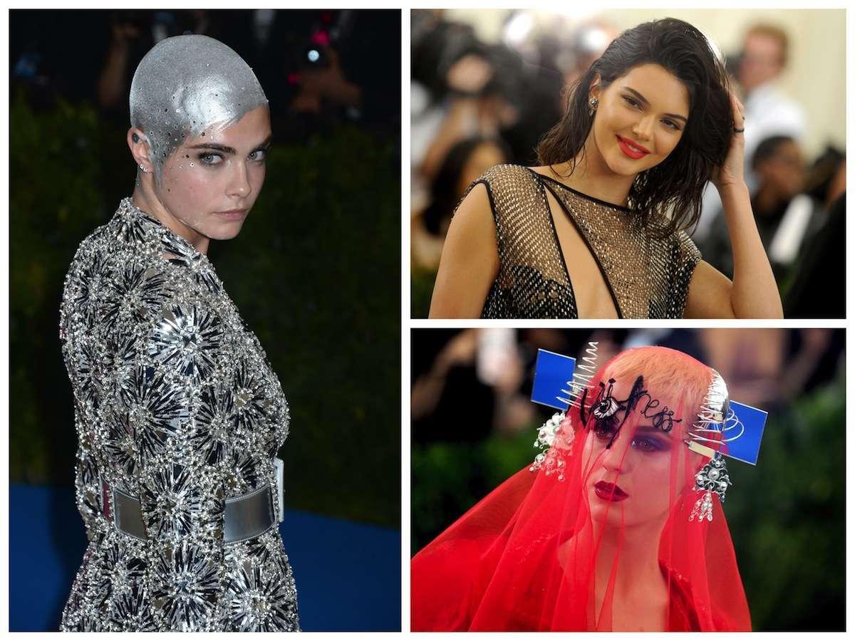 Met Gala 2017: i beauty look delle star