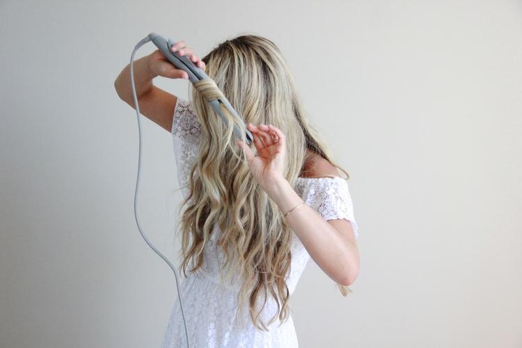 piastra per capelli mossi