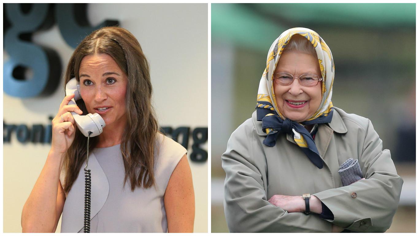 Matrimonio Pippa Middleton : Matrimonio pippa middleton: la regina elisabetta è stata invitata