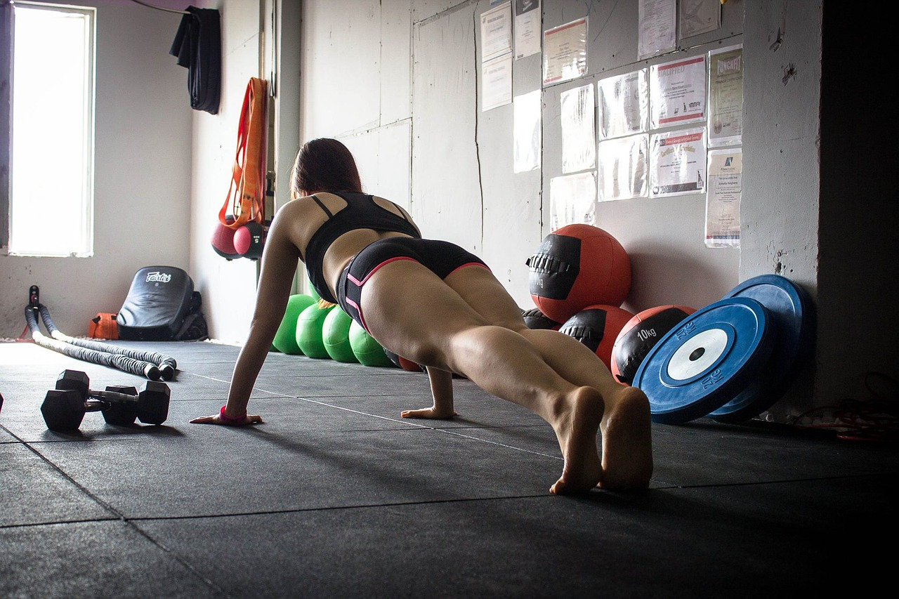 plank allenamento