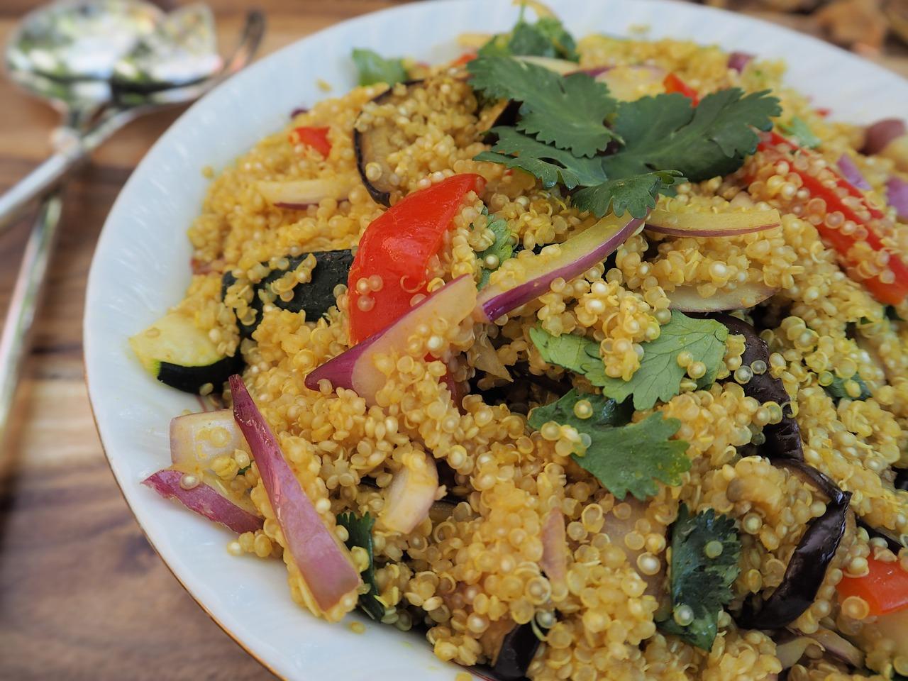 quinoa dieta massa magra