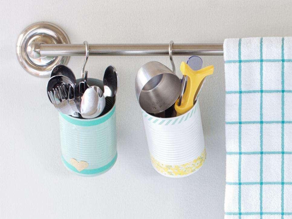 Riciclo creativo dei barattoli di latta: idee originali fai da te