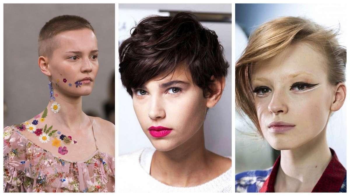 Tagli di capelli corti e cortissimi