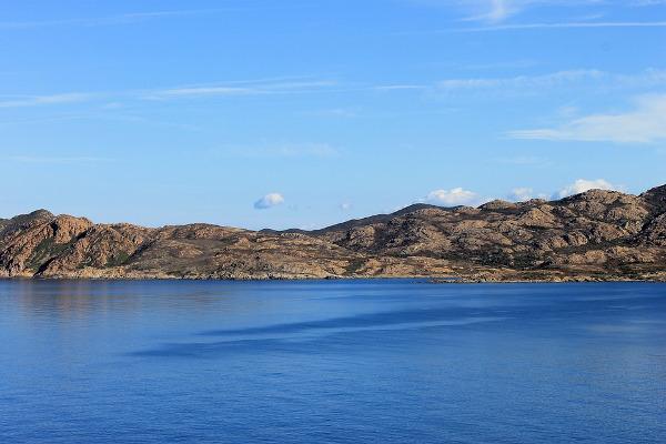 Corsica mare paesaggio