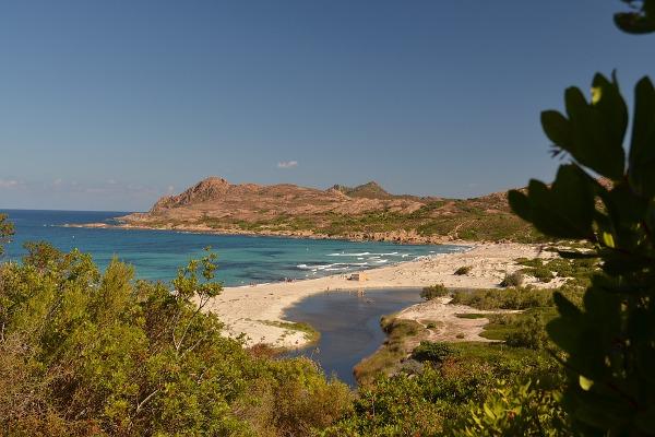 Corsica spiaggia mare