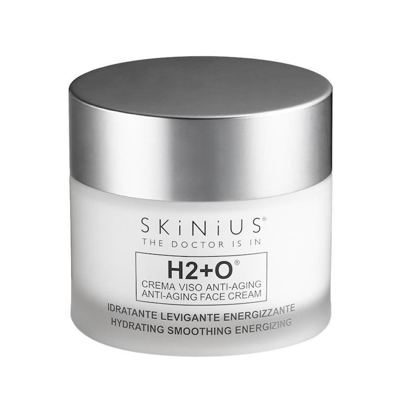 Crema viso antirughe H2+0 SKINIUS