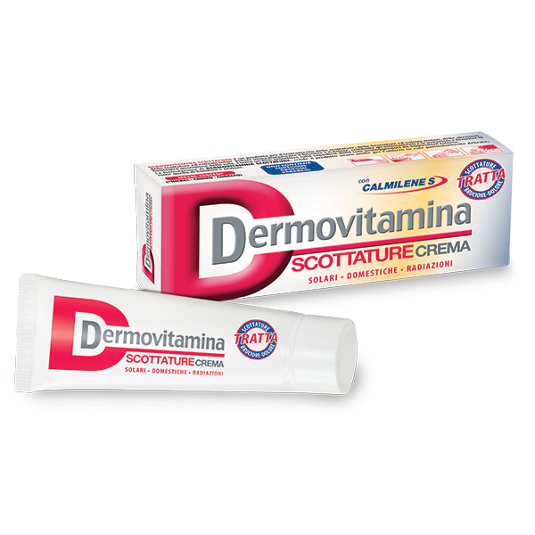 DERMOVITAMINA Scottature Crema 30ml