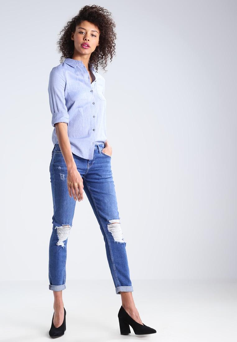 Girlfriend jeans strappati Topshop