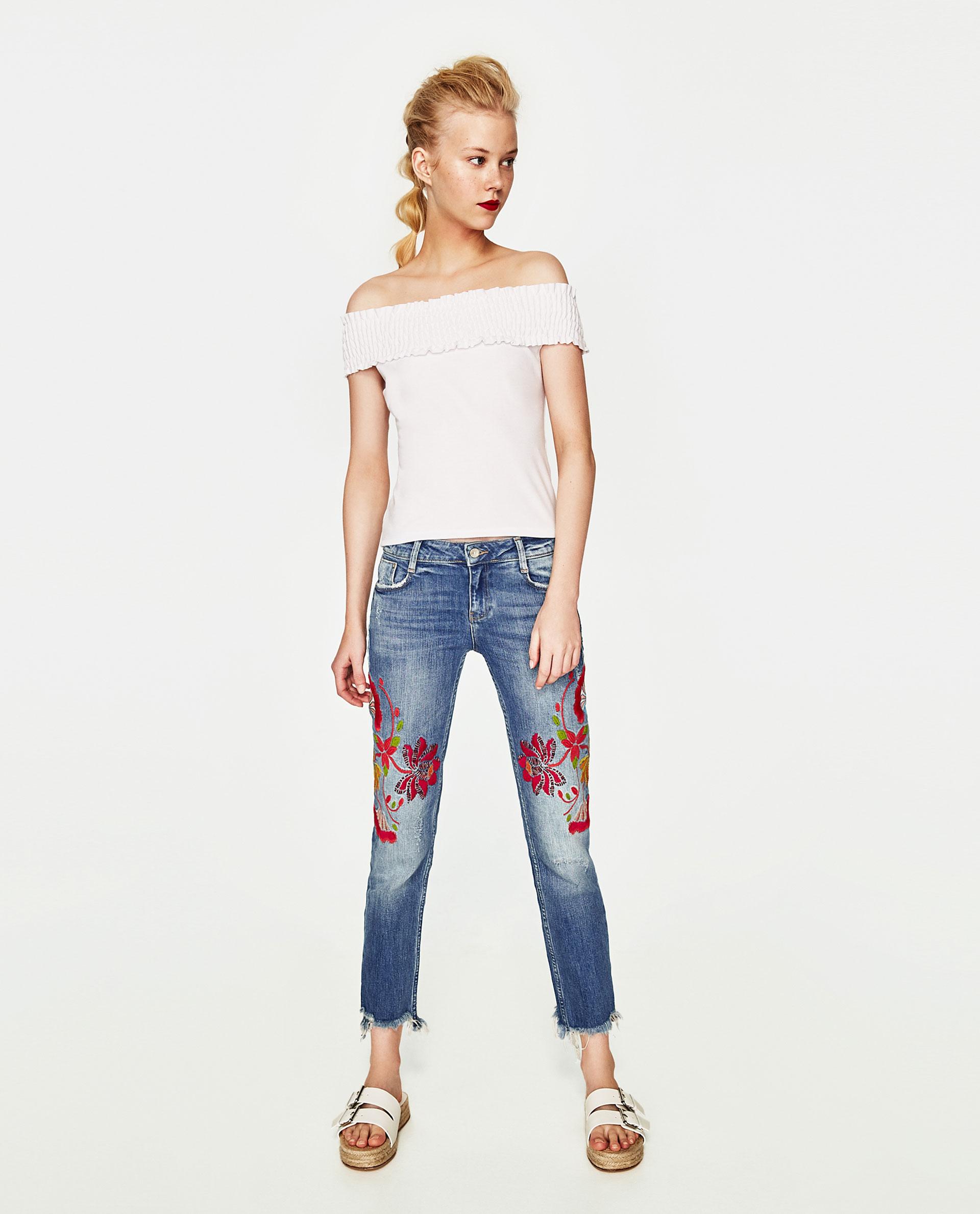 Jeans girlfriend Zara