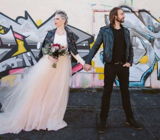 La sposa rock
