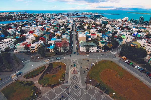 Reykjavik in Islanda