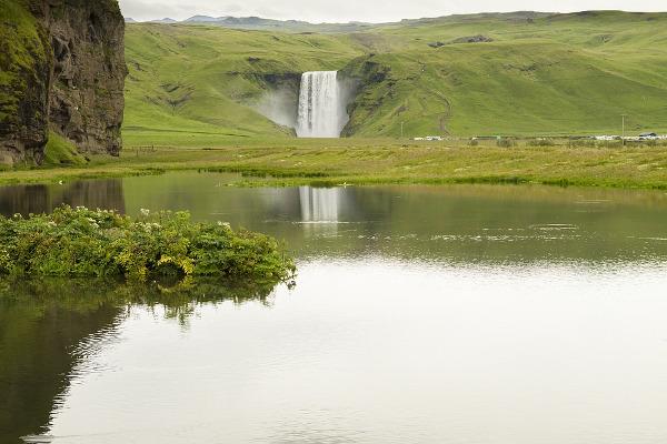 Skogafoss in Islanda
