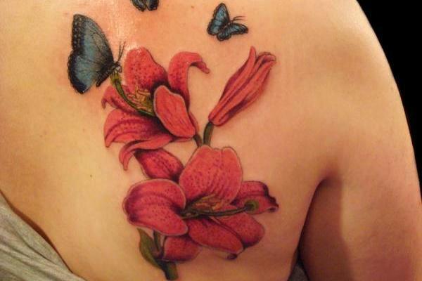 Tatuaggio giglio significato