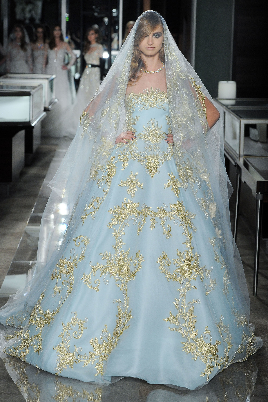 Vestito da sposa colorato Rem Acra