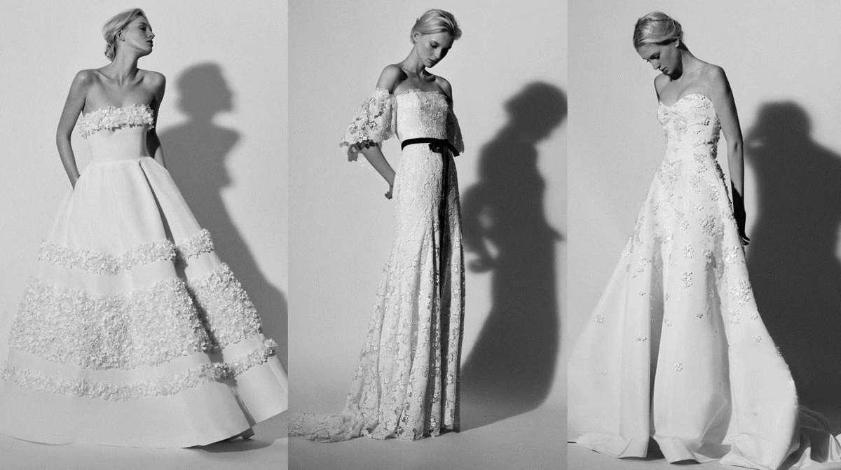 Abiti da sposa 2018 Carolina Herrera: la nuova collezione
