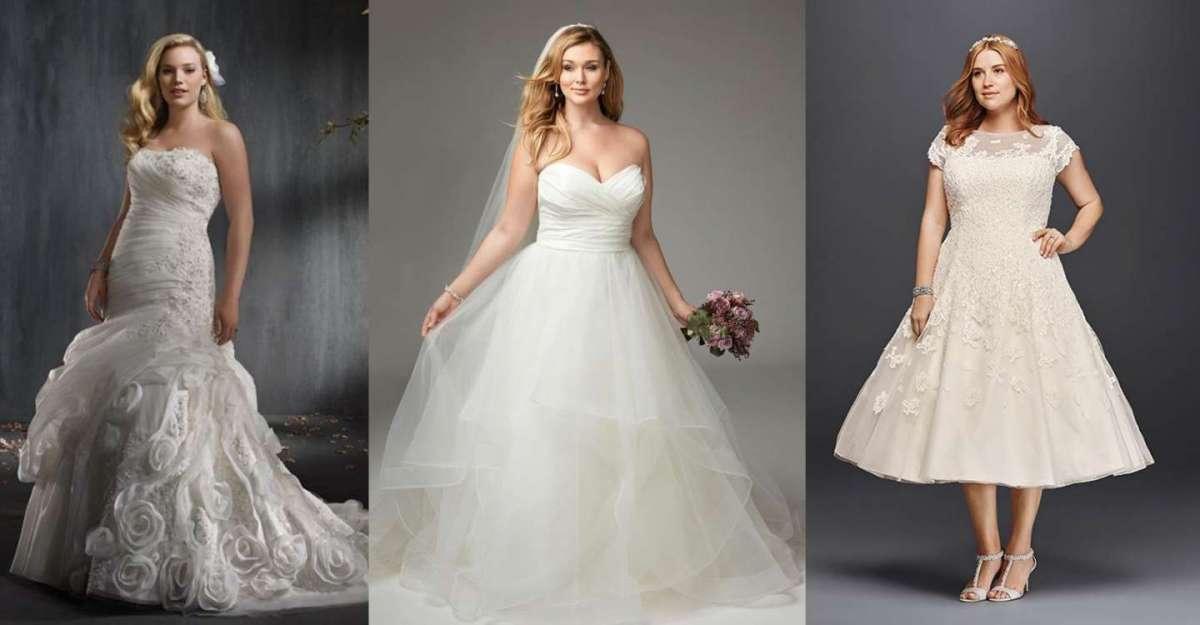 9b2285488f8b Abiti da sposa per taglie forti  i modelli che valorizzano le forme ...