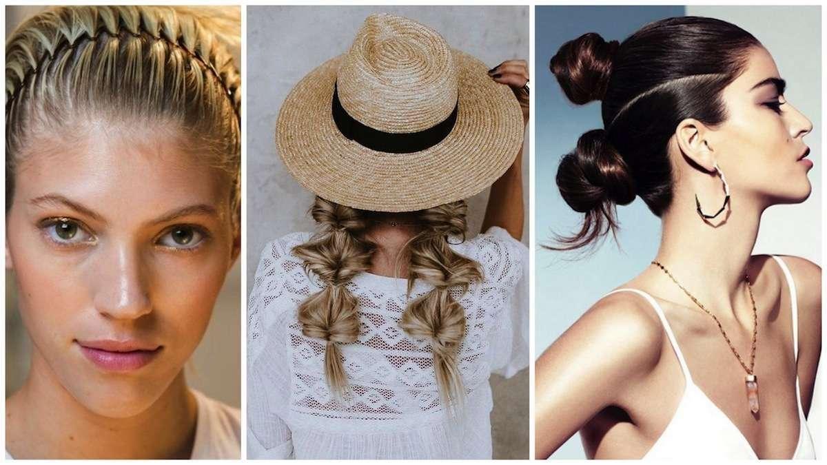 Acconciature estive: le più belle per i capelli lunghi, medi e corti