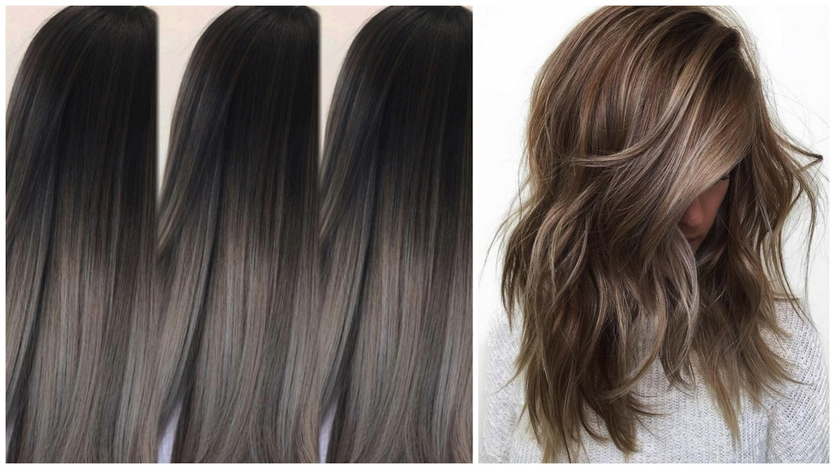 ash brown hair idee