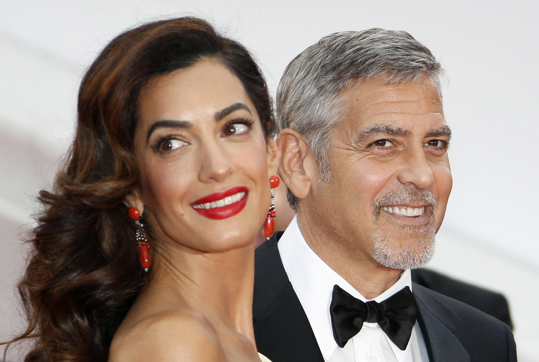 George Clooney papà: una scorta per i gemelli Ella e Alexander