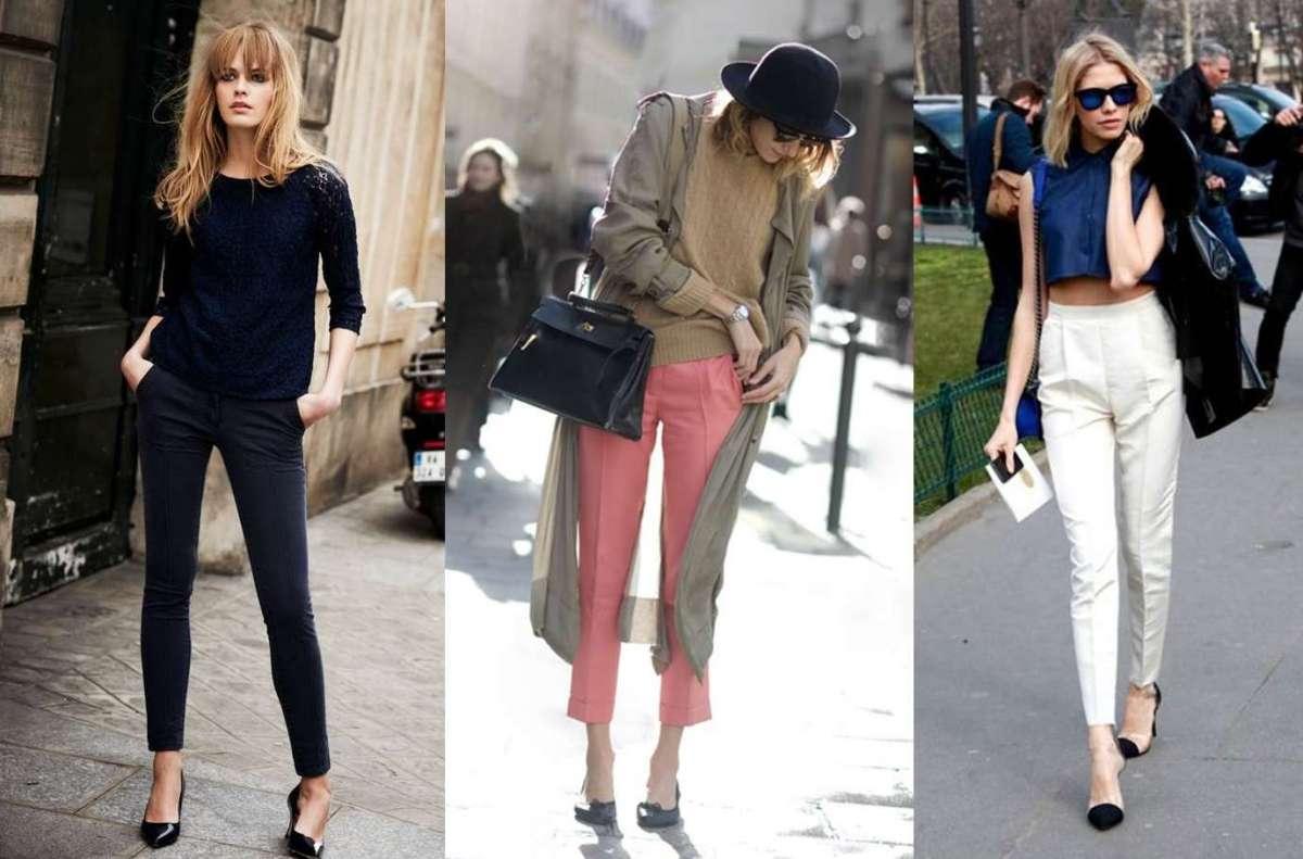 2a1c53e252f8e Come abbinare i pantaloni a sigaretta  consigli e idee per outfit ...