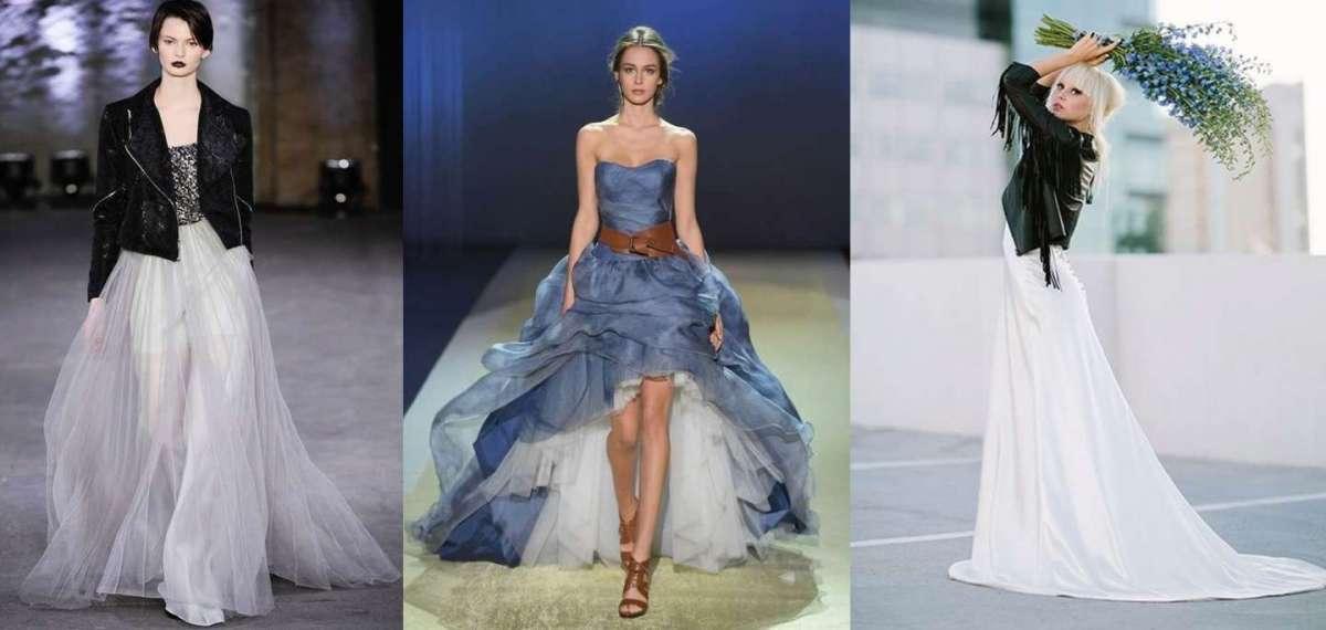 Il look della sposa rock: abito, scarpe e acconciature per chi ama osare