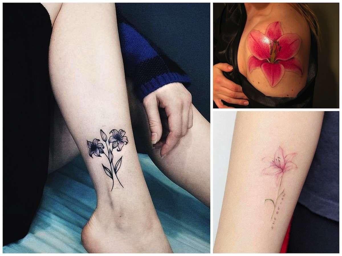 Tatuaggi con il giglio: il significato e i disegni più belli