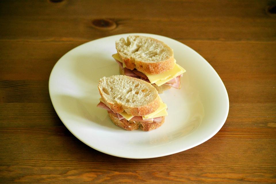 sandwich colazione