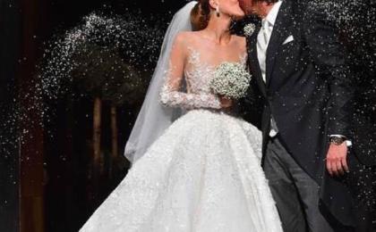 Victoria Swarovski, 500mila cristalli sul suo abito da sposa