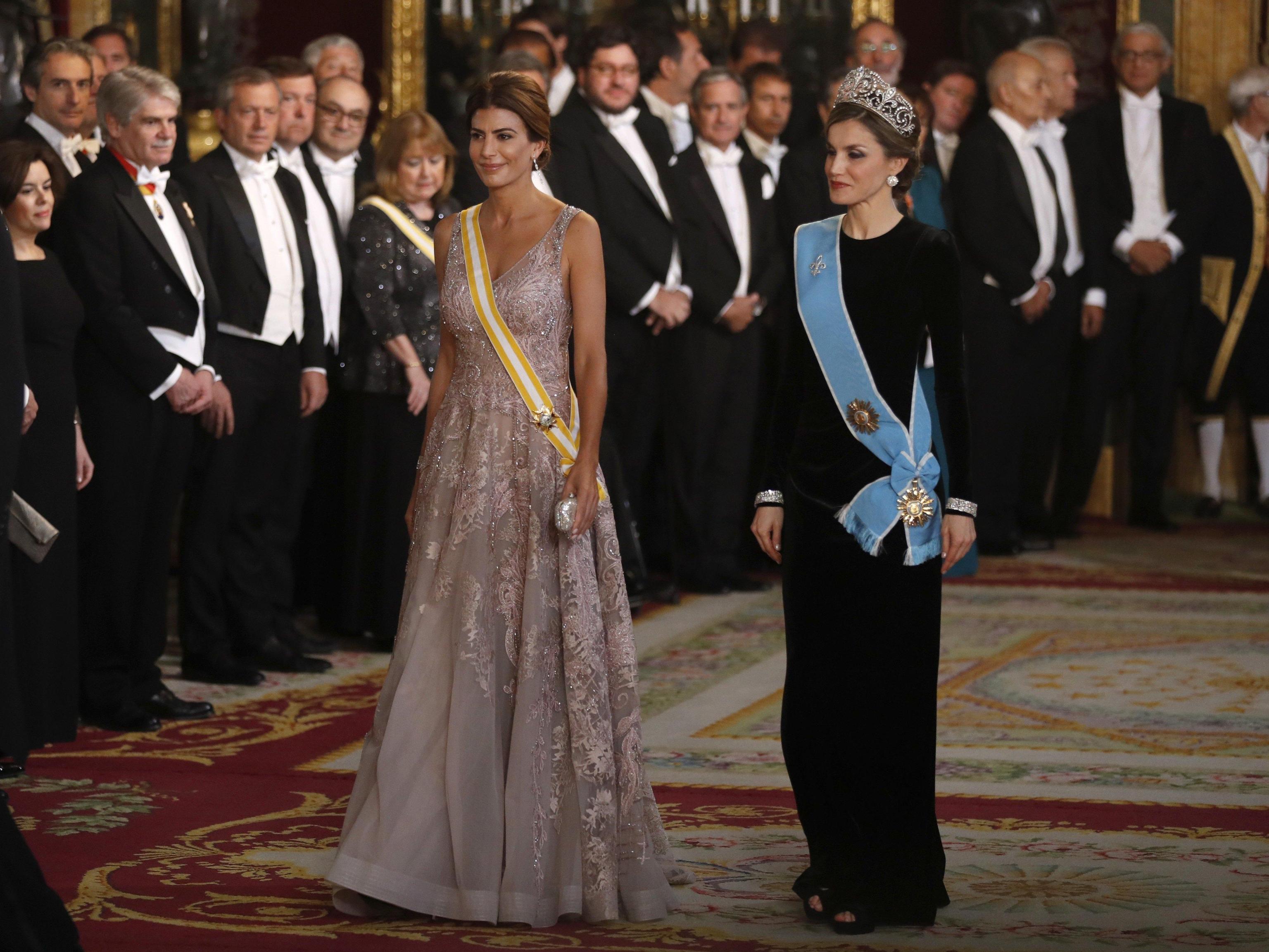 Argentinian President Mauricio Macri visits Spain
