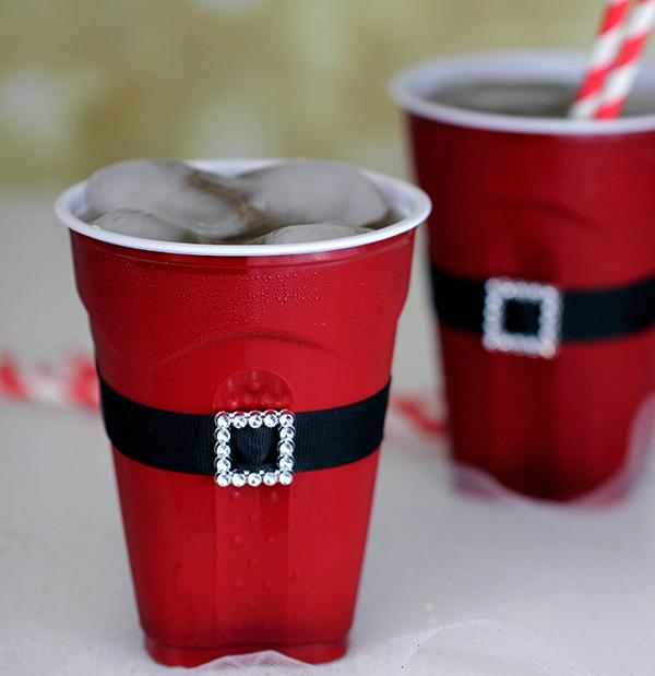 Babbo Natale bicchiere di plastica
