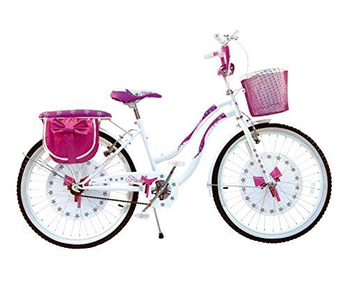 Bicicletta per bambine Fiocco Bianco