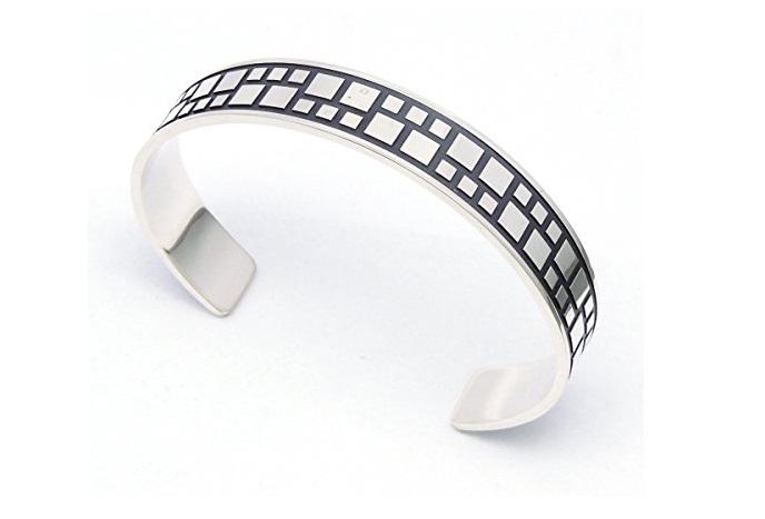 Bracciale in argento Arfasatti