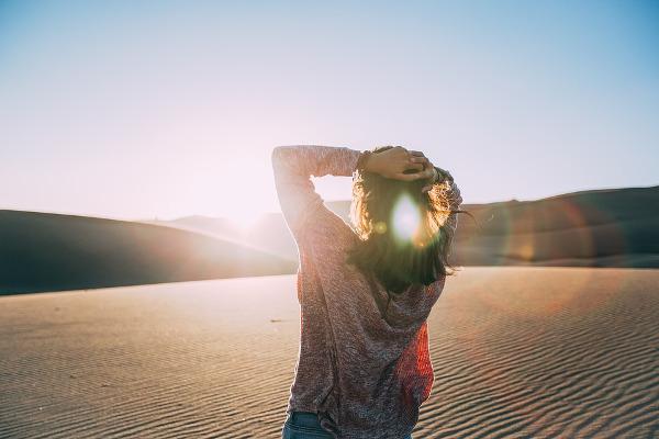 Deserto donna