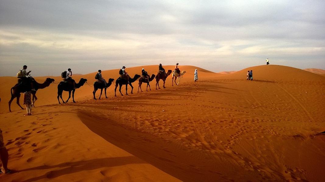 Escursioni nel deserto, l'abbigliamento giusto per un trekking senza problemi