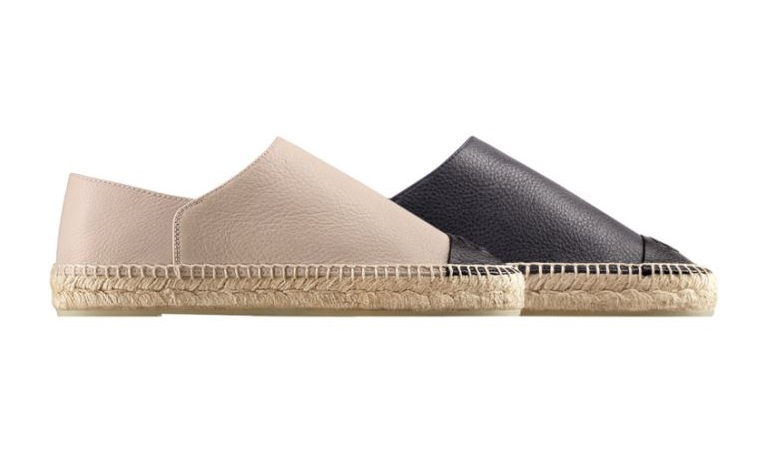 Espadrillas in pelle Chanel