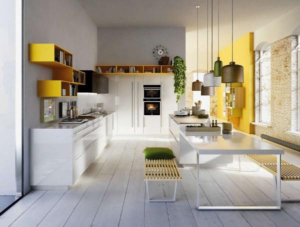 Giallo in cucina