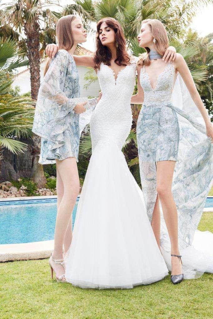Vestito da sposa a sirena Alessandra Rinaudo