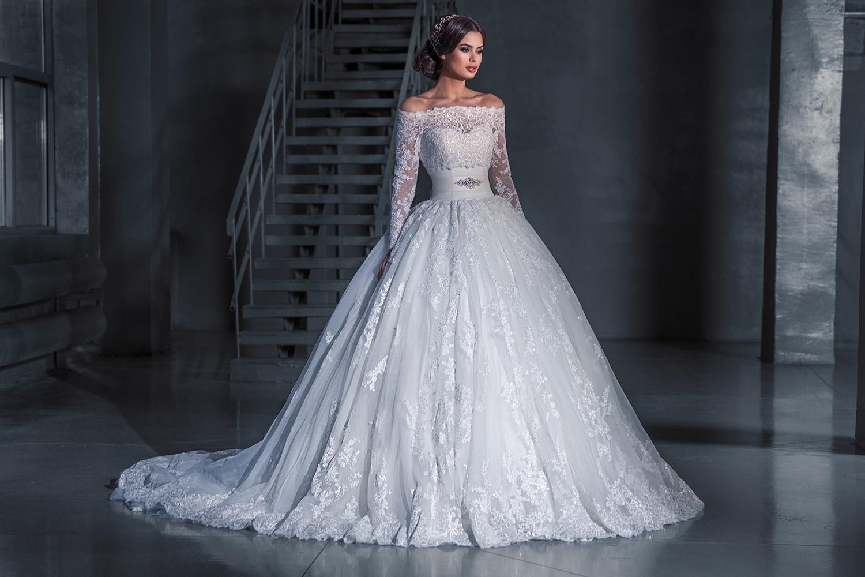 abito da sposa vintage da principessa
