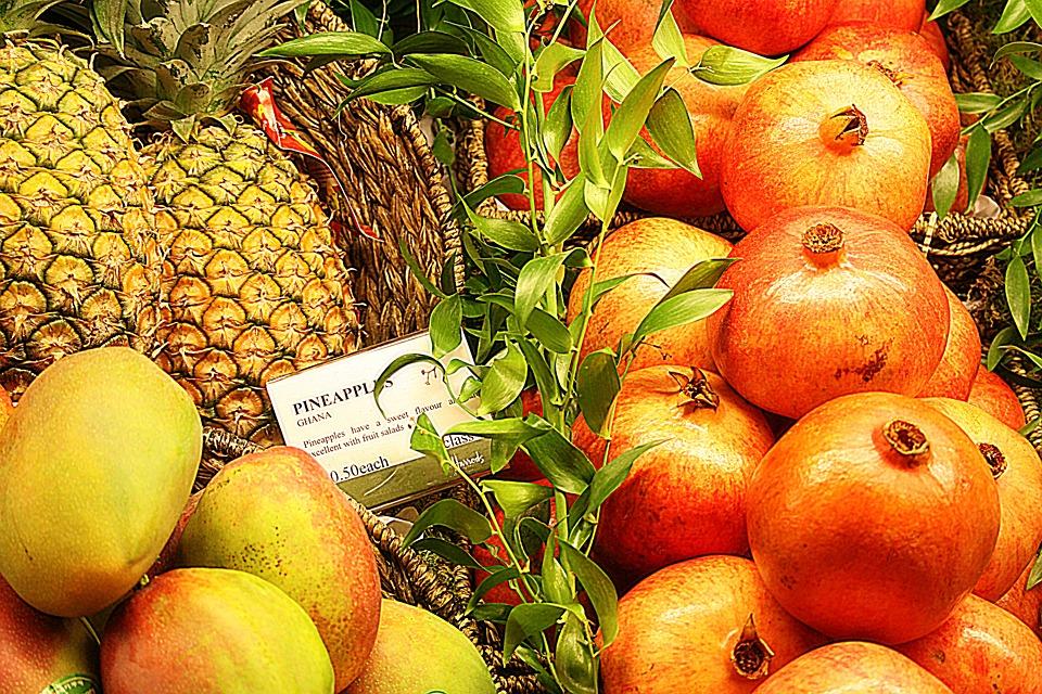 ananas pompelmo