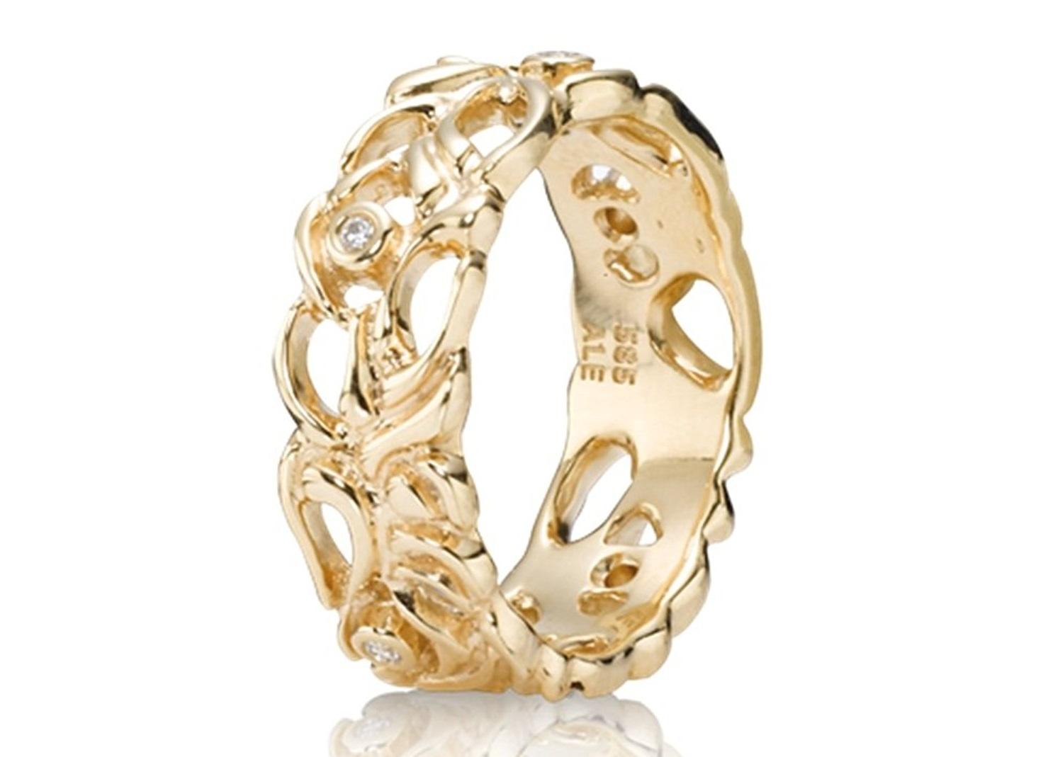 anello pandora in oro
