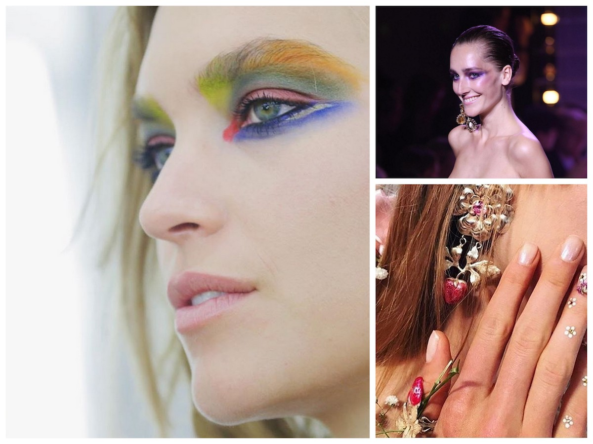 beauty look alta moda parigi luglio 2017