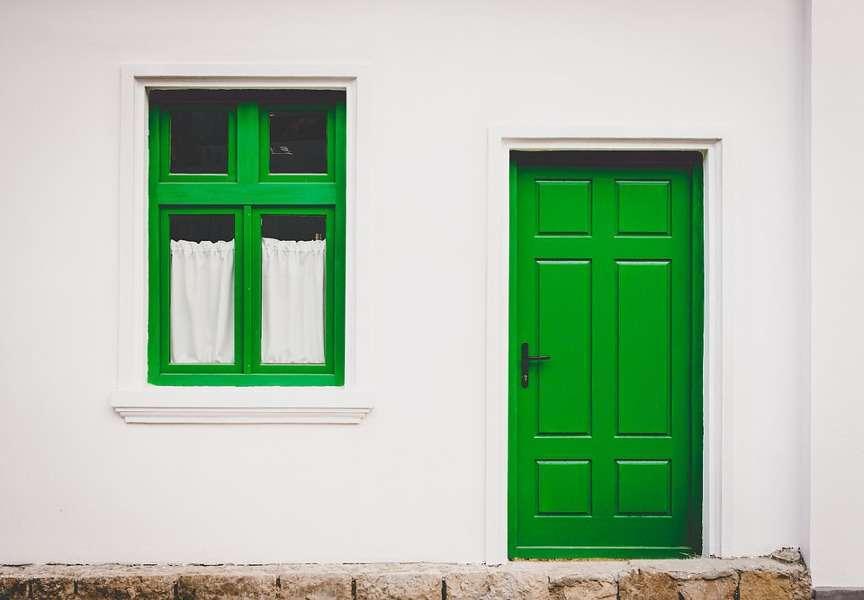 Casa in verde