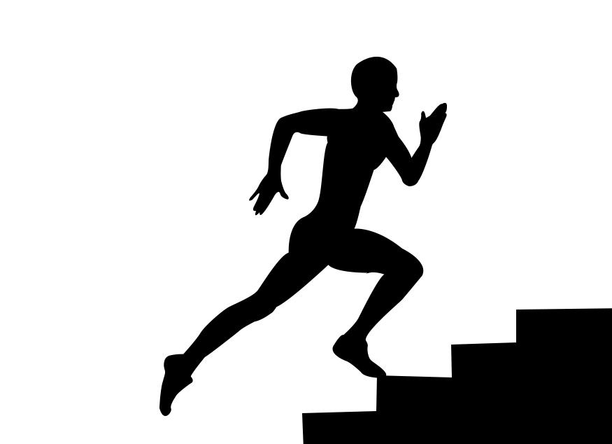 corsa su scale