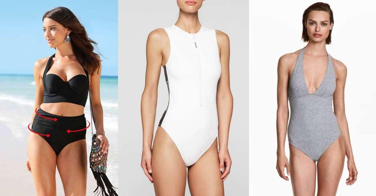 più recente cbe6d c6c86 Costumi da bagno modellanti per sembrare più magre: i più ...
