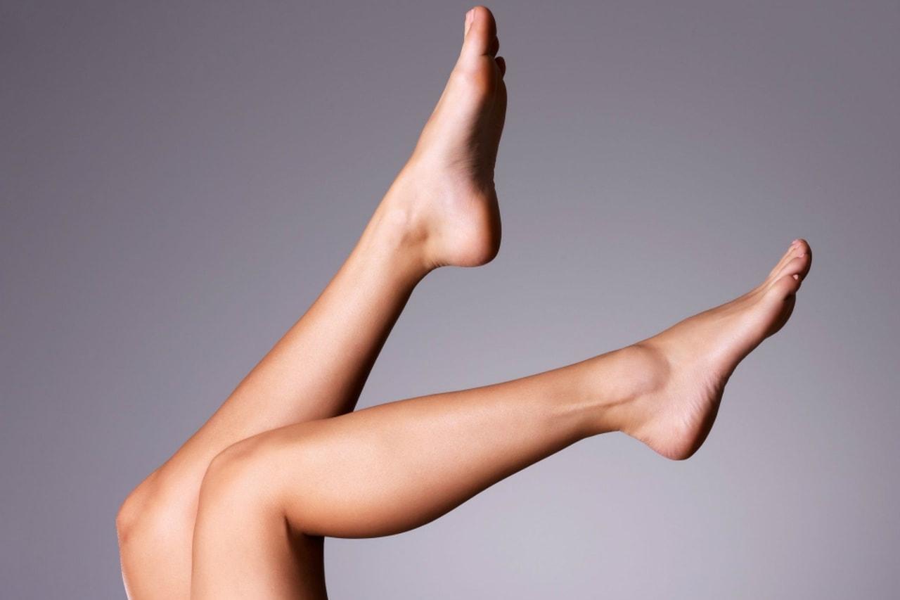 fondotinta sulle gambe